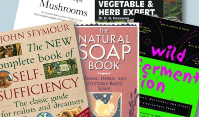 My ten favourite simple living/growing/cooking/making books