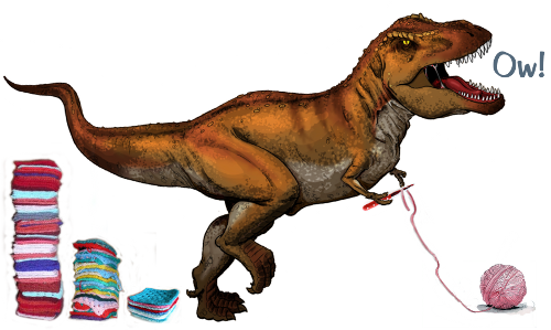 t-rex-crochet-claw
